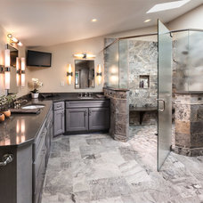 Contemporary Bathroom by Brillo Home Improvements