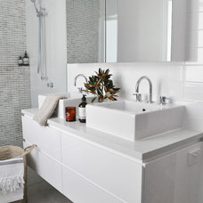 Contemporary Bathroom by Greenwood's Home