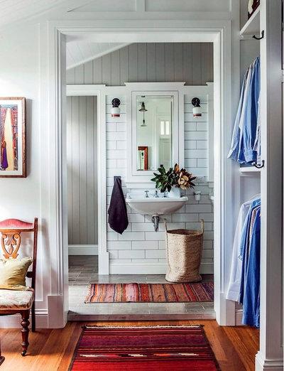 Farmhouse Bathroom by Ascot Living