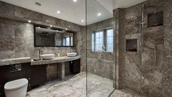 Waverley Dark Shower Room/Wet Room