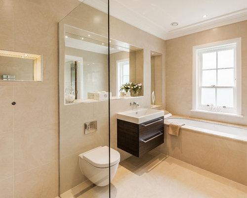 Bathroom Design Ideas Renovations Photos With An Alcove Bath And An
