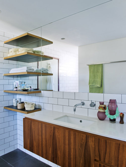Bathroom Shelves Ideas, Pictures, Remodel and Decor
