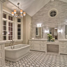 Traditional Bathroom by Brandon Architects, Inc.