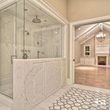 Traditional Bathroom by Brandon Architects, Inc.