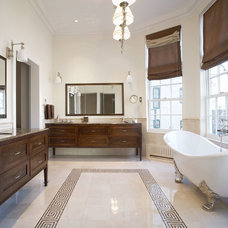 Traditional Bathroom by Matiz Architecture & Design