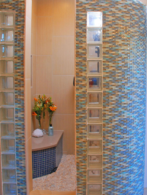 Wavy Glass Tile Ideas, Pictures, Remodel and Decor