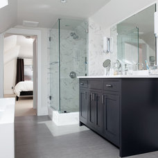 Contemporary Bathroom by George Ramos Woodworking