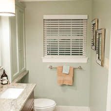 Transitional Bathroom by Curtis Lawson Homes