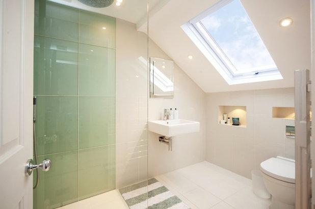 Contemporáneo Cuarto de baño by Plus Rooms