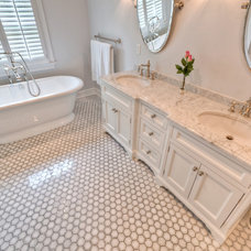 Traditional Bathroom by Fordham Marble Company Inc.