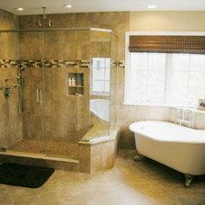 Traditional Bathroom by Vella Bath & Kitchen, Inc.