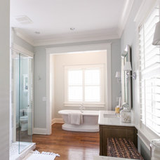 Traditional Bathroom by Michael Lauren Development LLC