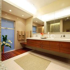 Contemporary Bathroom by OJMR-Architects, Inc.