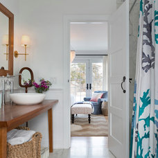 Traditional Bathroom by Kate Jackson Design