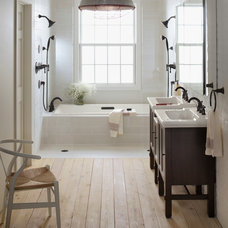Farmhouse Bathroom by Weinstein Bath and Kitchen
