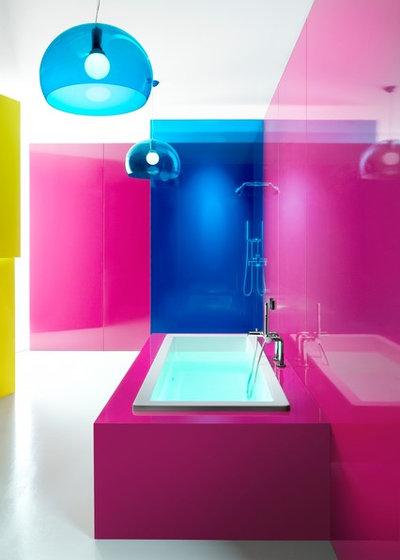 Kul rkoll v ga rosa i badrum och toalett for Weinstein kitchen and bath