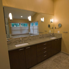 Contemporary Bathroom by Kitchen and Bath Factory, Inc.