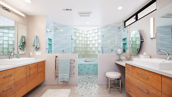 Welcoming view of the Walk In Shower