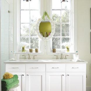 Стильный дизайн: ванная комната в стиле шебби-шик - последний тренд