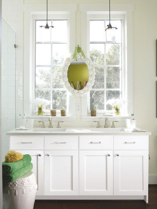 salle de bain romantique photos et id es d co de salles. Black Bedroom Furniture Sets. Home Design Ideas
