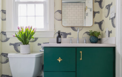 Bathroom of the Week: Whimsical Yet Sophisticated Kids' Space