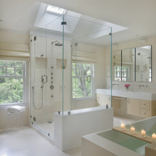 Modern Bathroom by Christine Tuttle Interior Design