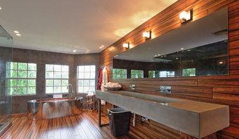 Wellington - Microcement Master Bathroom