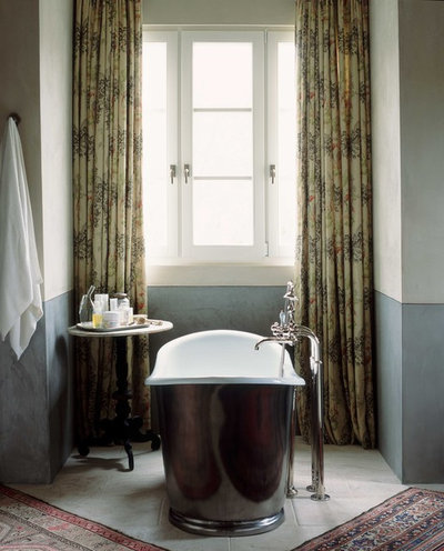Nice Traditional Bathroom by Wendi Young Design