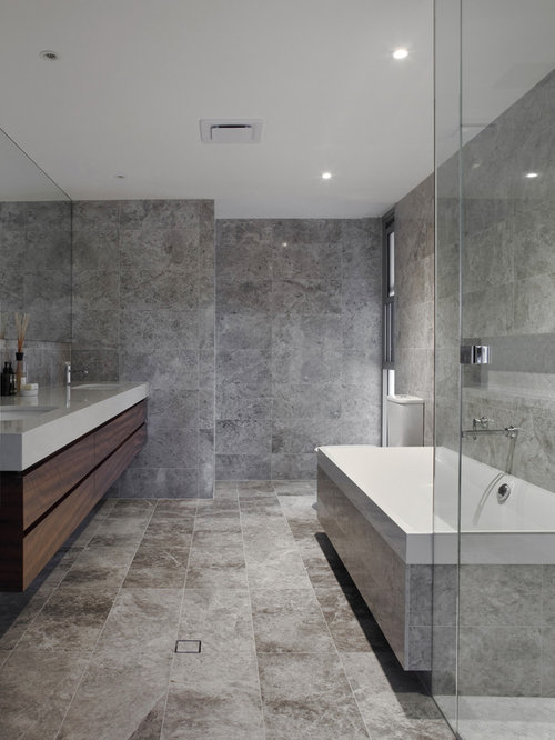 bathroom grey tile ideas, pictures, remodel and decor, Home design