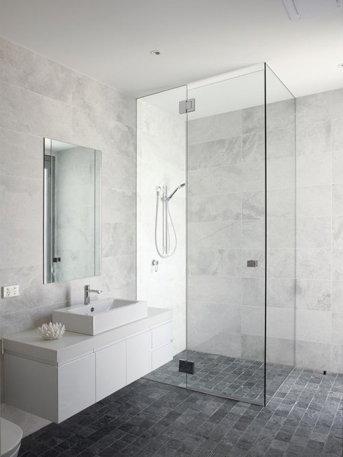 Gray Marble Mosaic Tile Houzz