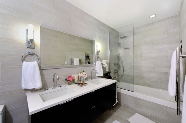 Contemporary Bathroom by KBR Design & Build