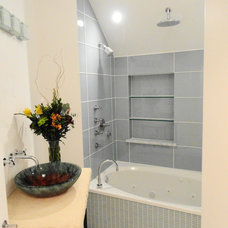 Modern Bathroom by Quality Renovations