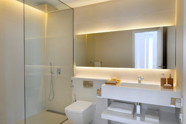 Contemporary Bathroom by Draw Link Group