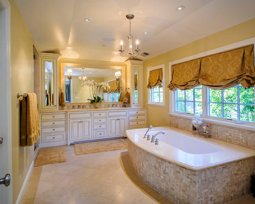 Roman Stone Beige Tile Ideas Pictures Remodel And Decor