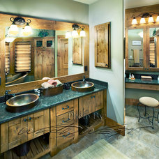 Traditional Bathroom by Mid-State Supply- Kitchen Design Center