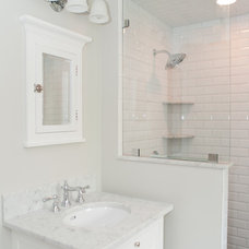 Traditional Bathroom by Michelle Winick Design