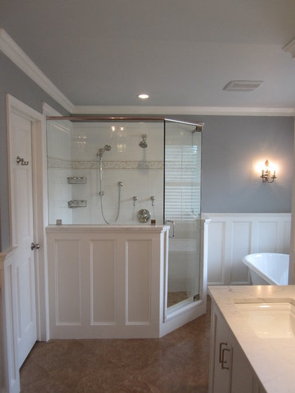 Traditional Bathroom by Lux Renovations