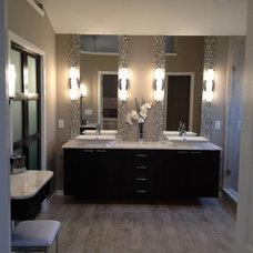 Contemporary Bathroom by Kimberly Fox Designs