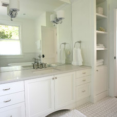 Beach Style Bathroom by Wakefield Construction Inc.