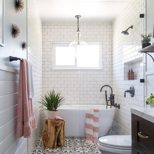 75 Beautiful Farmhouse Wet Room Pictures Ideas February 2021 Houzz