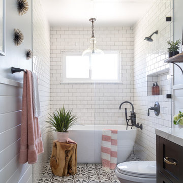 West Covina Guest Bathroom