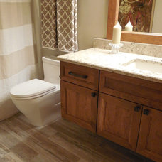 Traditional Bathroom by Cabinets by Design