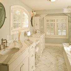 Traditional Bathroom by Kellie Burke Interiors