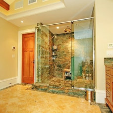 Traditional Bathroom by Classic Stone Design