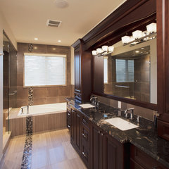 traditional bathroom by Stephens Fine Homes Ltd
