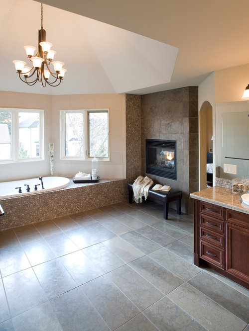 Bathroom Fireplace Ideas Pictures Remodel And Decor