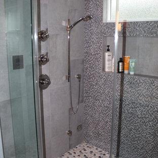 west hills modern master bath