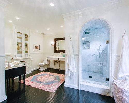 Built In Bathroom Cabinet built in bathroom cabinets | houzz