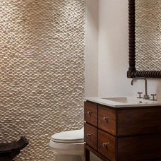 Beach Style Bathroom by Willoughby Construction