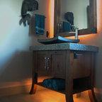 Spa Residence - Contemporary - Bathroom - Santa Barbara ...